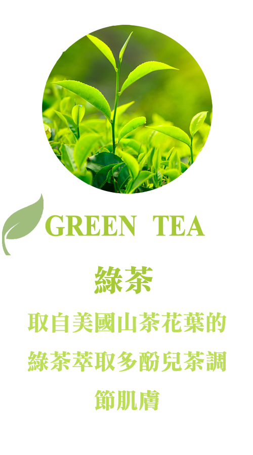 天然綠茶萃取